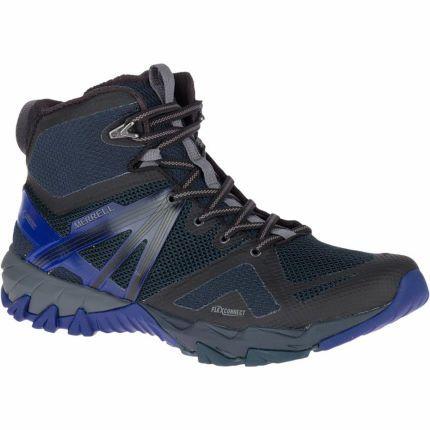 Merrell MQM Flex Gore Tex Mid GTX Shoes Navy £57.50 @ Wiggle
