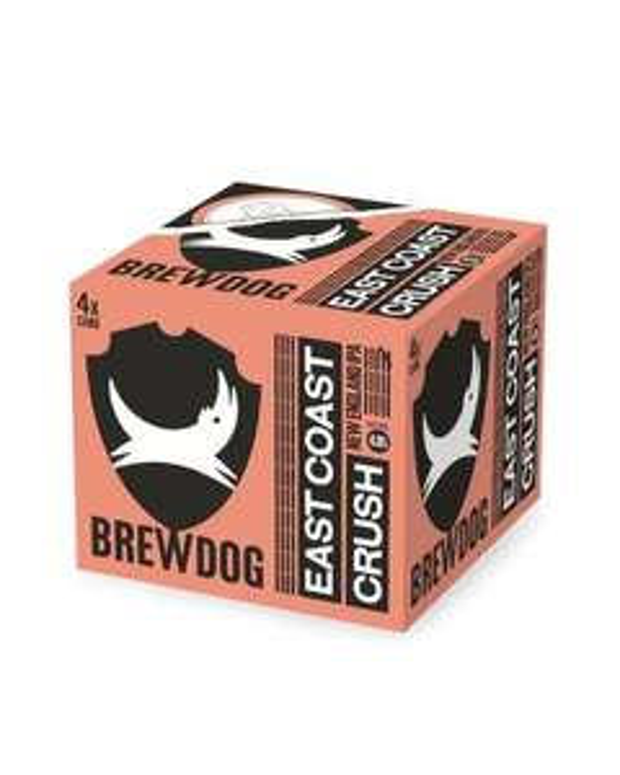 Brewdog - East Coast Crush - New England IPA - 4x330ml 4.8% alcohol - £3.25 Instore @ Co-Op (Lochgelly)