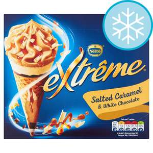 Nestle Extreme Salted Caramel White Chocolate 4X120ml - Any 2 for £4 at Tesco