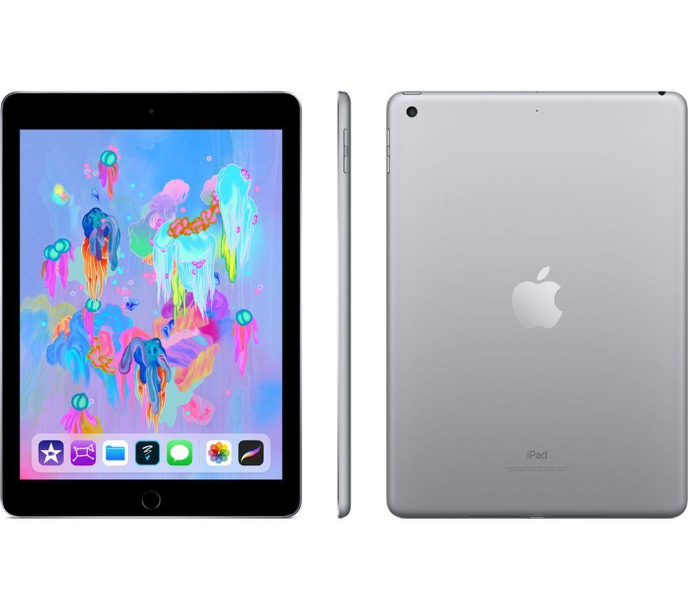 "APPLE 9.7"" iPad (2018) - 32 GB, Space Grey 6th Gen £289 @ Currys"