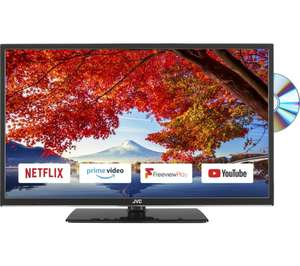 """JVC LT-32C695 32"""" Smart LED TV with Built-in DVD Player - £169 (With Code) @ Currys"""