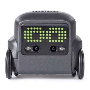 Boxer — Interactive AI Robot Toy (Black) with Personality and Emotions, for Ages 6 and Up - £23.47 @ Amazon