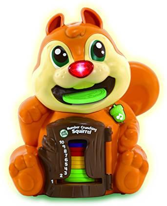 Leapfrog Number Crunching Squirrel - £8.99 @ Amazon Prime (+£4.49 non-Prime Postage)