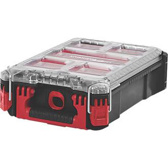 """Milwaukee Packout Compact Organiser Case 9¾ x 15"""" £26.87 @ Screwfix"""