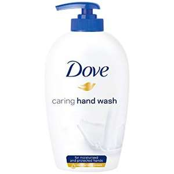Dove caring handwash 250ml silk@ Amazon Prime Now 70p