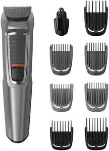 Philips Series 3000 9-in-1 Multi Grooming Kit for Beard and Hair with Nose Trimmer Attachment - MG3722/33 - £15 Prime / £19.49 Non Prime