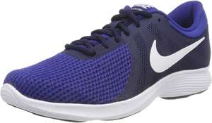 Nike Revolution 4 Eu Fitness Shoes (Midnight Navy/White/Deep Royal Blue 414) Size 7.5 and 8.5 at Amazon £25