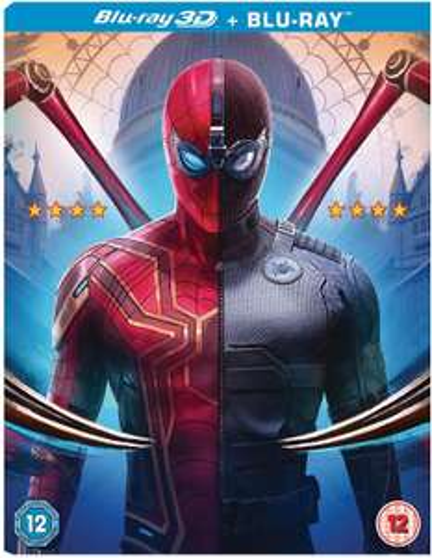 Spiderman Far From Home 3D & Blu Ray at Amazon £14.99 Prime / £16.98 non Prime