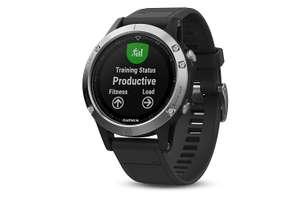 Garmin Fenix 5, Multisport GPS Watch £257.12 (£252 with fee free card) Delivered @ Amazon Italy