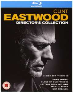 Clint Eastwood: The Director's Collection 5 x Blu Rays Box set - £9.98 (+ £2.99 Non Amazon Prime)