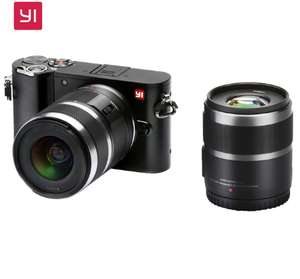 YI M1 Mirrorless Digital Camera with 12-40mm and 42.5mm lenses £263.99 ( £126 on 11/11) @ AliExpress Deals / yi-Store
