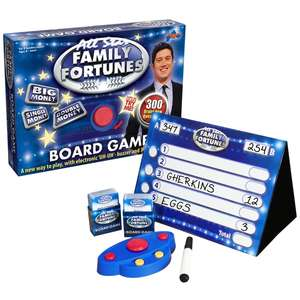 Was £19.99 All Star Family Fortunes Game at Smyths for £9.99 (free C&C)