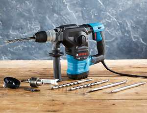 Ferrex 1500W SDS Rotary Hammer Drill £39.99 Delivered @ Aldi