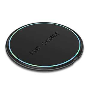 LED Breathing Light 10W Wireless Charger £3.39 ( £1 using new user coupon / 14p on 11/11) @ AliExpress Deals / Rock Official Store
