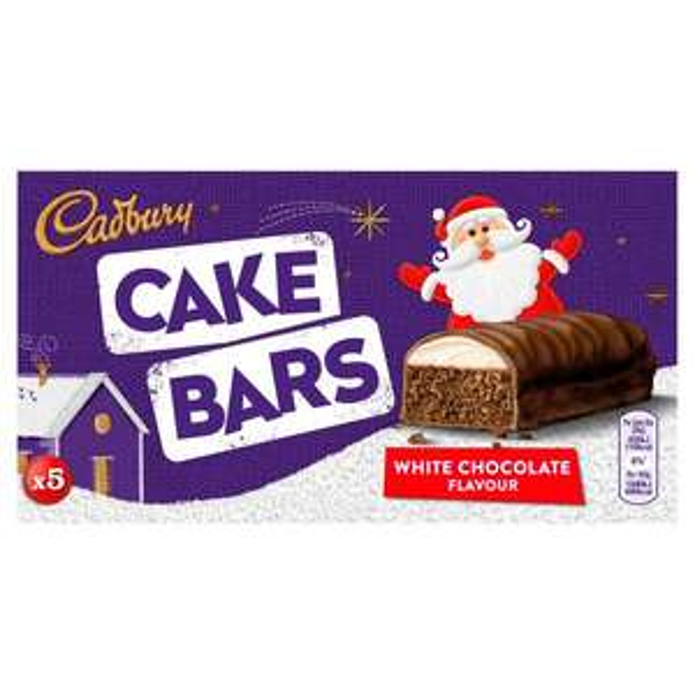Cadbury Festive Cake Bars 5 per pack 50p @ Morrisons
