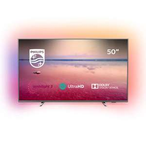 Philips 50PUS6754/12 50-Inch 4K UHD Smart TV with Ambilight, HDR 10+ (2019/2020 Model) - £399 @ Amazon Dispatched and sold by Richer Sounds