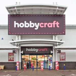 Free gifts with hobby craft paper bags with any purchase instore @ Hobbycraft Norwich Riverside