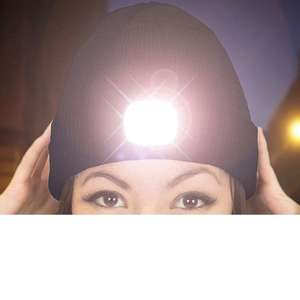 Rechargeable LED Beanie £3.98 + £1.99 on Groupon