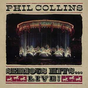 Phil Collins - Serious Hits...Live! [CD] - £1 instore @ Poundland