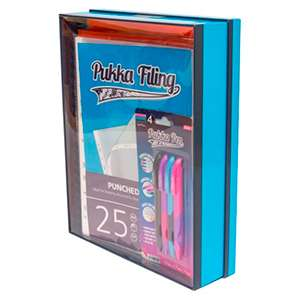 Pukka filing collection £4.99 @ Home Bargains Reading