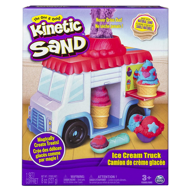 Kinetic Sand 6035805 Ice Cream Truck, Multi Colour £7.50 (+£4.49 Non Prime) @ Amazon