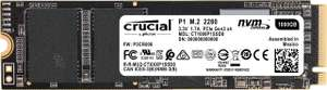Crucial P1 CT1000P1SSD8 1TB Internal SSD (3D NAND, NVMe, PCIe, M.2) £86.37 @ Amazon Germany