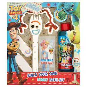 Disney Toy Story Build Your Own Forky Bath Set £3 @ Tesco