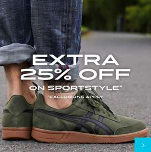 Extra 25% Off Sportstyle Sale Trainers at checkout + Extra 10% Off + Free delivery & Returns @ ASICS - E.g Gel-Lyte Keisei £21.60 delivered