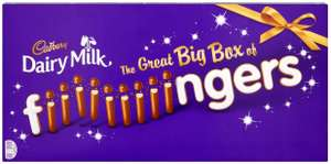 Cadbury Dairy Milk Chocolate Fingers Biscuits Gift Box 570g (5x114g) £3.50 instore @ Morrisons St Helens