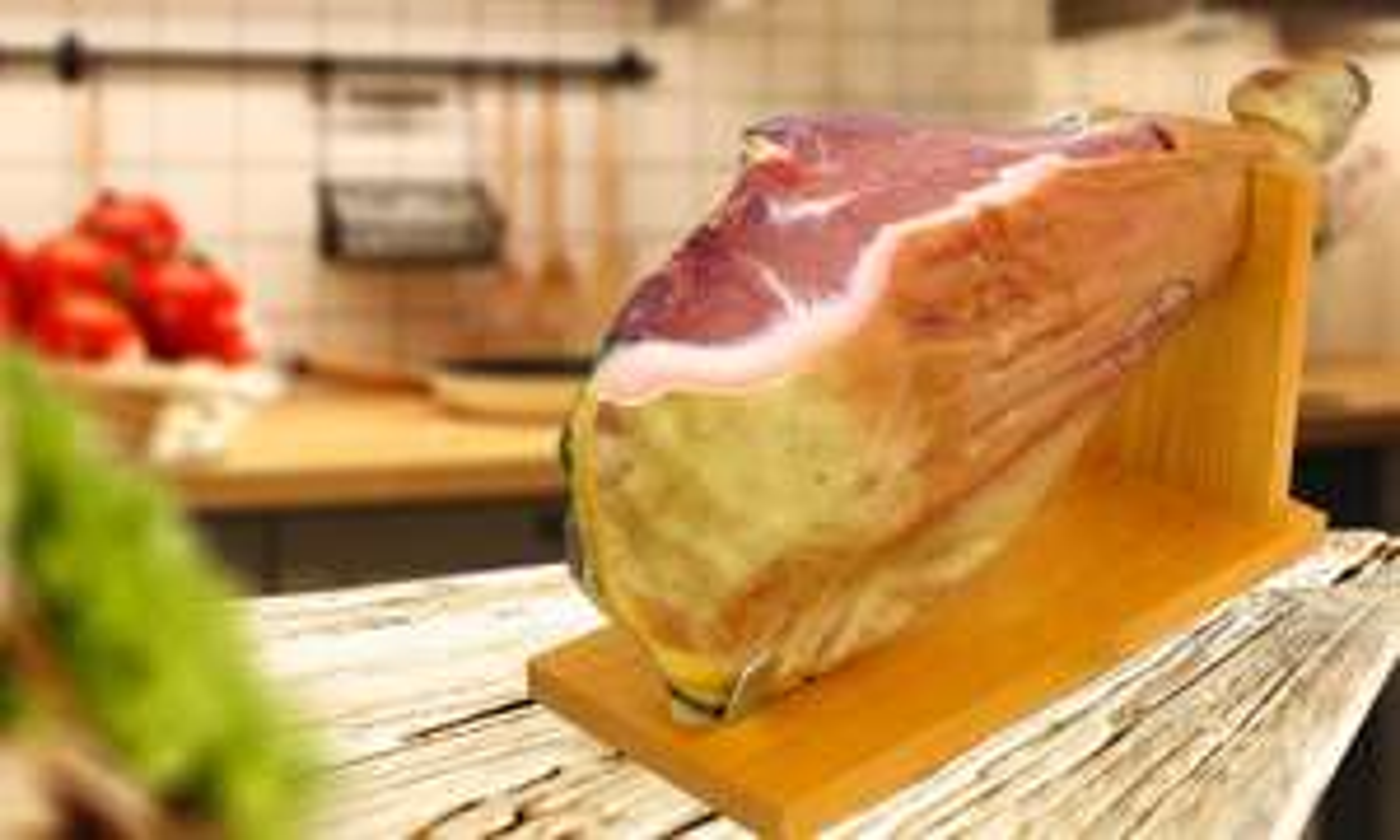 Serrano Ham 6kg with Ham Holder - £39.99 / £41.98 delivered @ Groupon