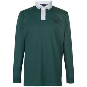 Tommy Jeans Essential Rugby Polo Shirt £31.39 Delivered With Code @ Sports Direct