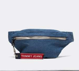 Tommy Jeans Womens Logo Tape Bumbag Now £14.99 Blue/Lilac @ Footasylum + Free Click and Collect