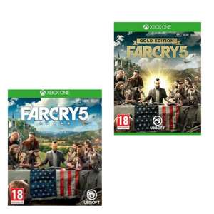 [Xbox One] Far Cry 5 - £13.74 / Gold Edition - £17.49 @ Microsoft Store