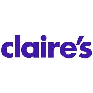 Claire's accessories 50% off early black Friday preview