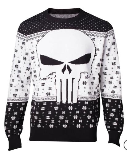 Marvel The Punisher - Christmas Jumper size S £17.98 delivered @ Zavvi