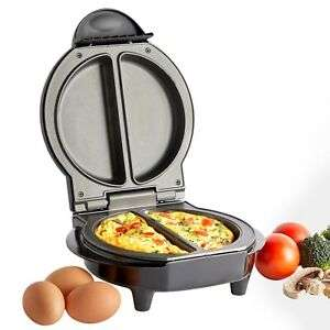 VonShef Omelette Maker Electric Non Stick Egg Fryer Pan Cooker Scrambled Omlette £10.99 delivered @ domu-uk eBay
