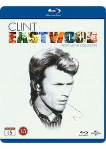 Clint Eastwood The Collection 8 film Blu-ray £11.99 delivered @ Coolshop