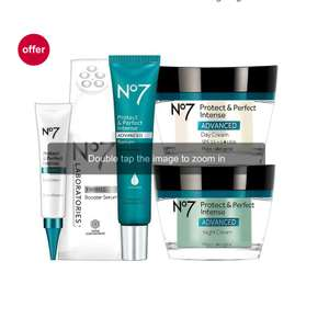 No.7 Protect & Perfect Intense Advanced Firming Regime bundle - £75 delivered @ Boots Shop