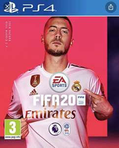 FIFA 20 PS4 PSN Indonesia £31 approx
