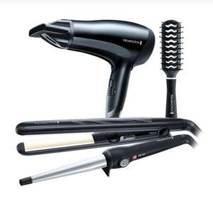 Remington S3500GP - Triple Haircare Gift Set - £29.99 @ Robert Dyas + Free Click & Collect