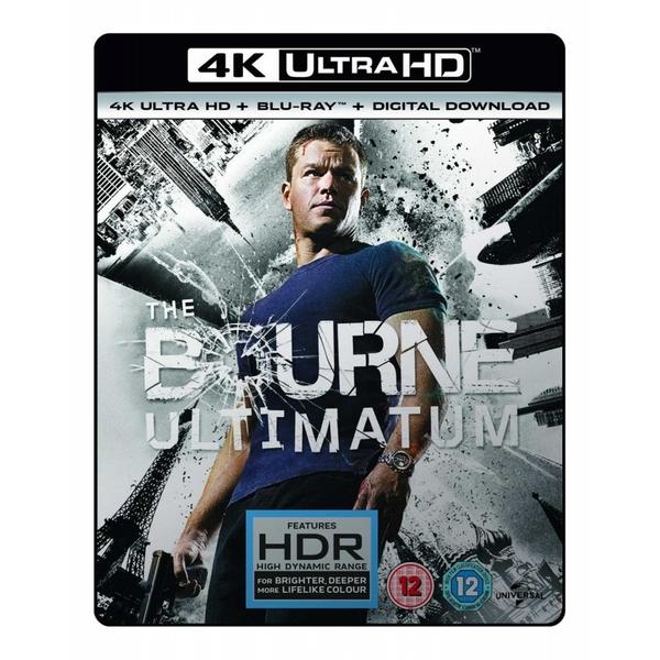The Bourne Ultimatum 4K HDR + Blu-ray + Digital Download £6.99 @ 365Games