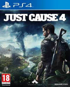 Just Cause 4 PS4 + Exclusive Fast & Furious 8 Blu-Ray + Digital Download Included £19.99 Prime / +£2.99 non Prime @ Amazon UK