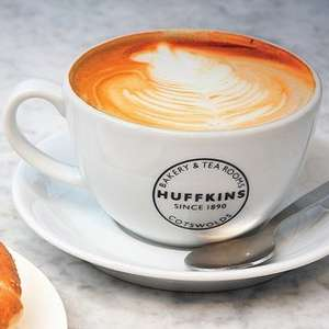 Free Hot Drink @ Huffkins with app