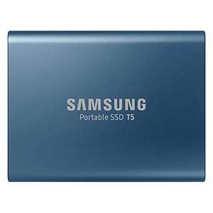 Samsung Portable SSD T5 500 GB USB 3.1 External SSD - £70.74 (£67 w/fee free card) Delivered Amazon Germany