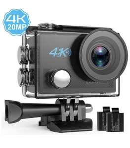 4K Action Cam with EIS £29.99 Sold by MookaEU and Fulfilled by Amazon.