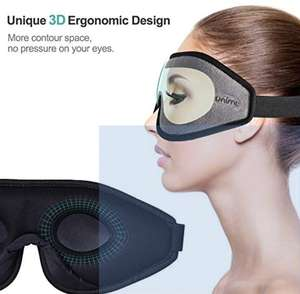 Sleep Mask for Women & Men, Unimi ( £3.60 Prime from £11.99 + £3.49 non Prime) sold by ZHXTEK and fulfilled by Amazon