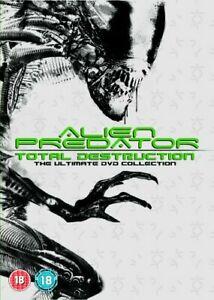 Alien Vs Predator: Total Destruction Collection - 8 Films, Used £2.77 delivered @ worldofbooks08 ebay