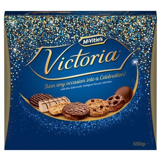 Mcvities Victoria Carton 550G for £3 at Tesco