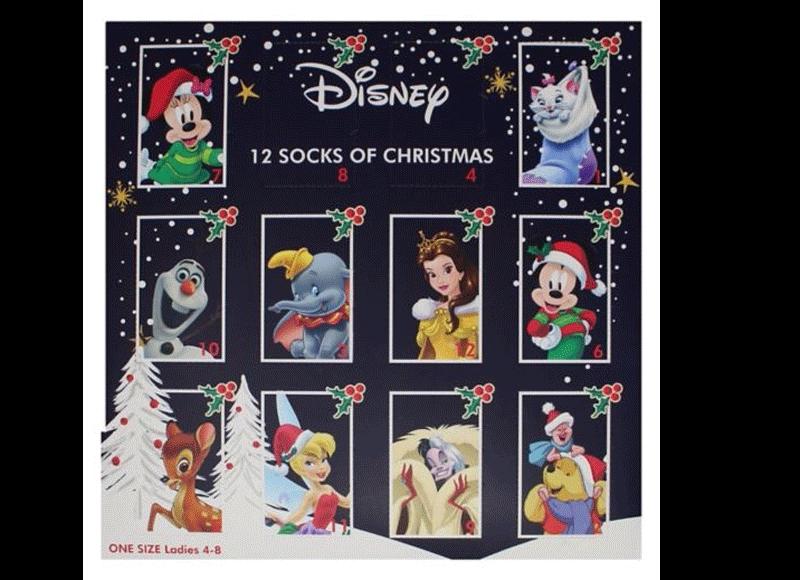 Disney Sock Calendar at Boots for £22.50