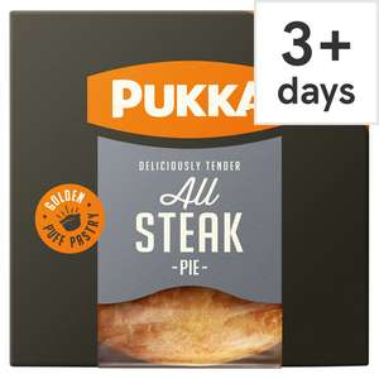 Pukka Pies (All Flavours) £1 @ Asda